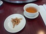 新橋亭別館 ランチ ジャスミン茶