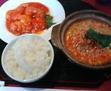 銀座 維新號 いしんごう 新館 ランチ 坦々麺とエビチリ