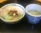 新橋 洋麺屋 五右衛門 ランチ サラダ スープ