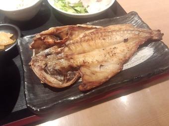銀座 魚然 焼き魚ランチ カサゴ