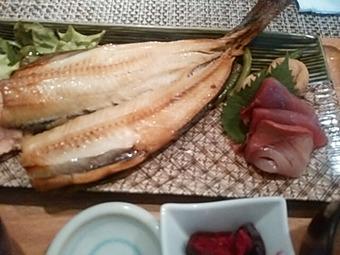 新橋 白金魚 プラチナフィッシュ 本店 ランチ ほっけ