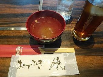 新橋 霧島 ランチ 大相撲 ちゃんこ鍋定食 ラムスープ