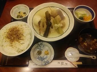 銀座 神田川 ランチ 限定おでん定食