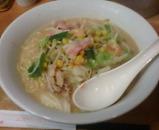 新橋 リンガーハット 長崎チャンポン 麺2倍