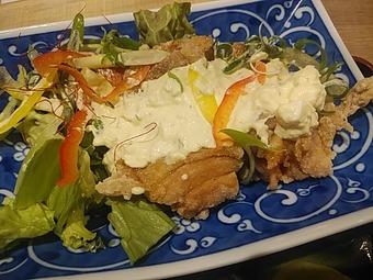新橋 銀座 殻YABURI からやぶり ランチ チキン南蛮定食
