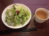 銀座 Olive(オリーブ)ランチ サラダ スープ