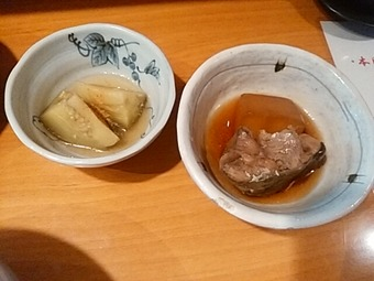 築地 魚河岸三代目 千秋 ランチ 小鉢