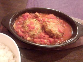 銀座 Olive オリーブ ランチ トマト煮込みハンバーグ