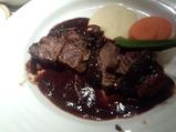 銀座 美しょう ランチ 牛頬肉の赤ワイン煮