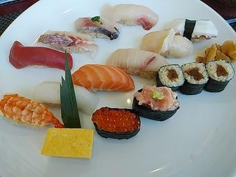 汐留 寿司 鮨 美寿思 みすじ ビジネスランチ 築地にぎり 大漁