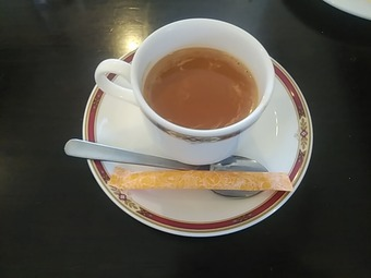 銀座インド料理カーンケバブビリヤニ ランチ チャイ