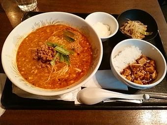 浜松町 大天門 ランチ 坦々麺セット