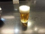 銀座かなわランチ ビール