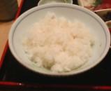 銀座鳴門 かきご飯 白飯
