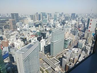汐留 寿司 鮨 美寿思 みすじ カレッタ汐留 46F眺望