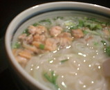 汐留シティセンター ベトナムフロッグ アサリと青菜のフォー
