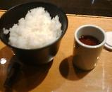 銀座岡半 ランチ 和牛リブロース薄焼 ご飯 赤出汁