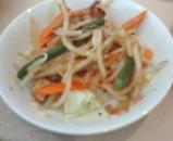 銀座日航ホテル ランチバイキング 惣菜 野菜炒め
