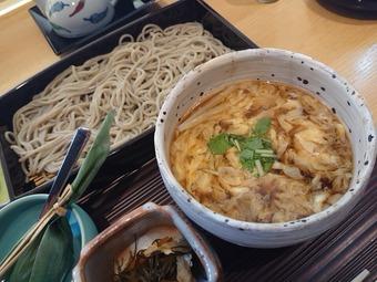 銀座久保田ランチ 季節丼と蕎麦膳 へぎそば