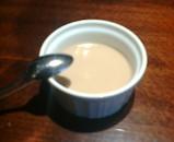 銀座ローマイヤ ランチ デザート 紅茶のプリン