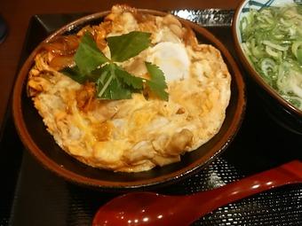丸亀製麺 親子丼 汐留店