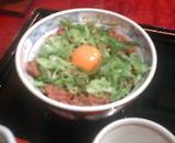 新橋 蕎麦 味喜庵 ランチ 鳥そぼろ丼