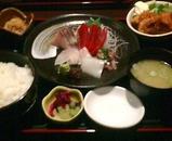 新橋 魚の家 うおのや ランチ 刺身定食