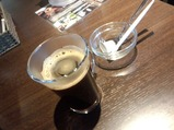 新橋 ENZAN ワイン豚生姜焼 コーヒー