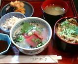 新橋 銀水 丼丼セット