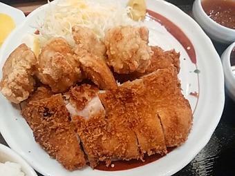 鳥良商店 新橋店 ランチ チキン・チキン定食