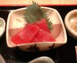 銀座鳴門 かきご飯 刺身
