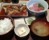 銀座 千里浜 ちりはま ランチ 煮魚刺身定食