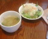 銀座 元酒屋 ランチ スープ サラダ