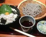 新橋 蕎麦 高田屋 ランチ しらす丼