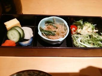 銀座 飯家くーた ランチ チキン南蛮定食 小鉢