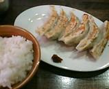 新橋ねじ餃子食堂 餃子定食