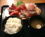 新橋 海鮮水産 ランチ 刺身定食