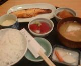 新橋 舞浜 ランチ メダイ味噌焼き