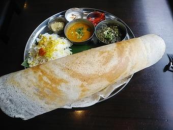 銀座インド料理カーンケバブビリヤニ ランチ マサラドーサ