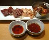 銀座 岡半 ランチ 和牛サーロイン 小角ステーキ