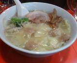新橋 八京 ワンタン麺 塩ラーメン