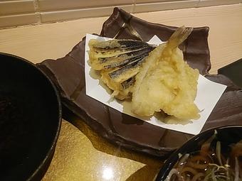 山形蕎麦 焔藏 えんぞう GEMS新橋店ランチ焔藏膳 天ぷら