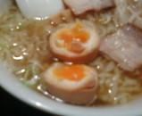 新橋 喜多方ラーメン 坂内 味付け卵