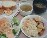 銀座日航ホテル ランチバイキング サラダ
