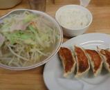 新橋 タンメン しゃきしゃき ランチ 餃子