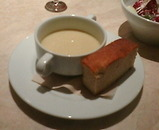 銀座リゴレットキッチン RIGOLETTO KITCHEN ランチ スープ パン