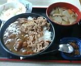 吉野家 カレー牛丼