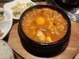 新橋 韓菜 ハンナ ランチ 純豆腐チゲ