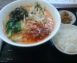 銀座 新台北菜館 坦々麺