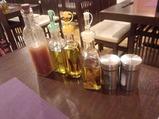 銀座 Olive(オリーブ)ランチ サラダ ドレッシング